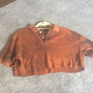 Polo By Ralph Lauren Cropped Tee